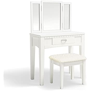 Amazon Com Furniture Of America Doris 2 Piece Vanity And