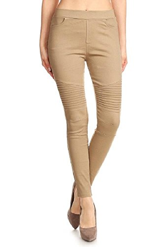 Pleated Womens Khakis - 1