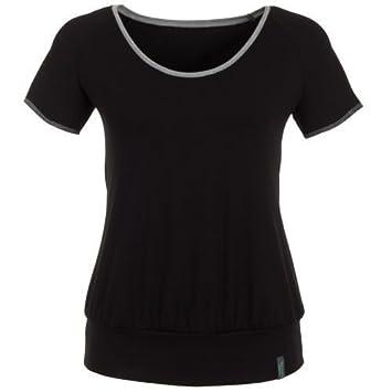Camiseta Yoga Mujer Negro, SITA Camiseta de Hut & Berg ...