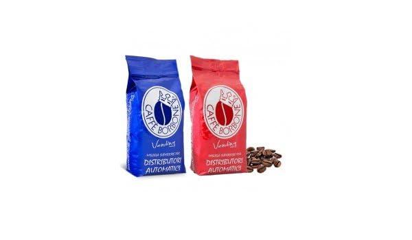 Borbone - Café en grano, mezcla, paquete de 2 kg, línea Vending roja y azul: Amazon.es: Hogar