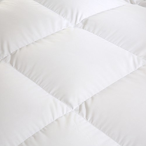 Quilt Breathable soft duvet White feather-A 220x240cm(87x94inch) by WENXXXXX (Image #2)'