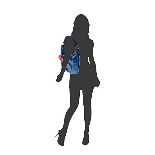 tracolla Lucido donna Gabs Blu Borsa Blu a S xCw8qH8v