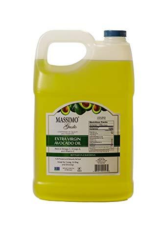 Massimo Gusto Avocado Oil, Extra Virgin (128 fl oz total) -