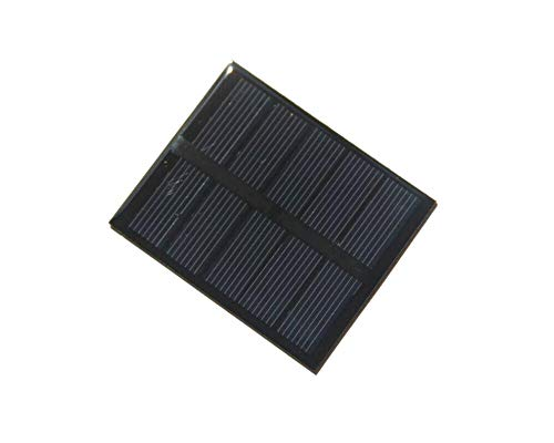 Industrial Solar Panel - XINI INDUSTRIAL 5pcs 0.5w 2.5v 200ma 58x70mm Mini Polysilicon Solar Panel Module DIY Polysilicon Solar Epoxy Cell Charger