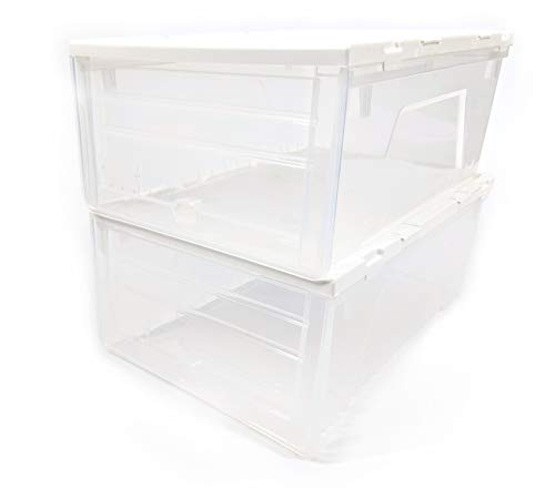 LapWorks Link-It Storage Boxes (Set of 2) - Accessory for The Link-It Cart (2 Storage ()