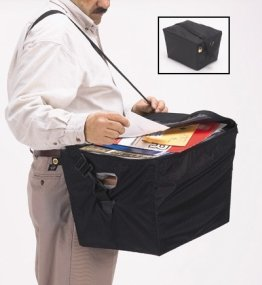 Charnstrom Tote Cover with Shoulder Strap, Includes White Corrugated Tote (C22)