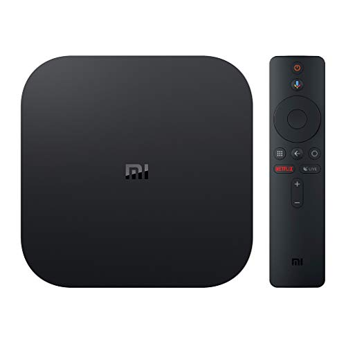 Mi Box S 4K Ultra HD Android TV with Google Voice Assistant Remote Streaming Player (Mi Tv)