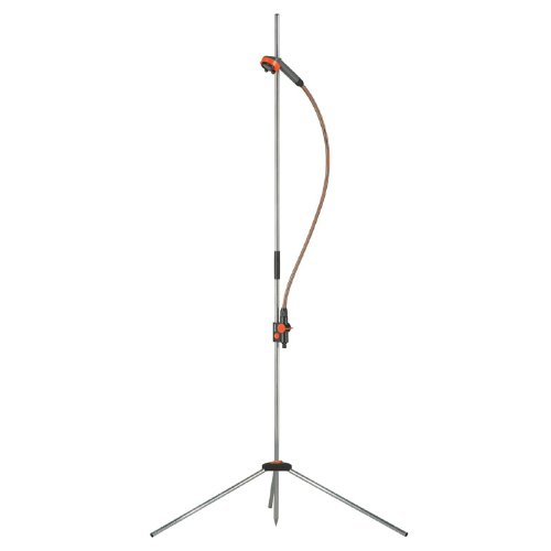 Gardena 960 Outdoor Portable Garden Shower Trio On Stand