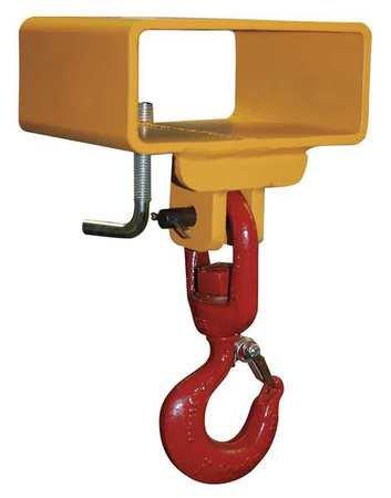 Lifting Hook Sgl Fork Sgl Swivel 3000Lb