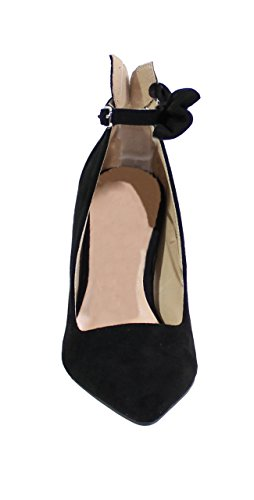 By Style Shoes By Noir Escarpin Femme Talon Aiguille Shoes Daim qxB7dwZY