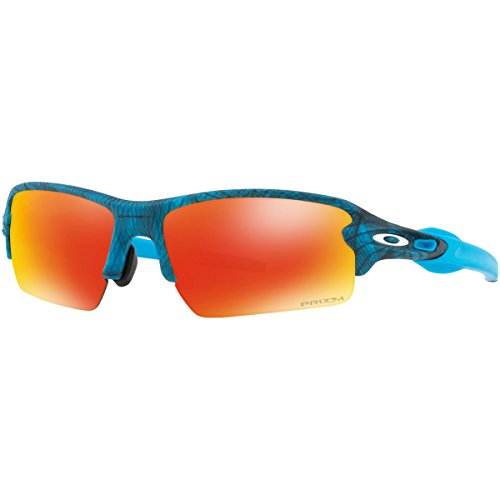 Oakley Men's Flak 2.0 (A) Sunglasses,Aero Grid - Work Sunglasses Oakley