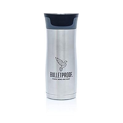 Bulletproof Coffee Autoseal Stainless Steel BPA Free 16oz Travel Mug by Bulletproof