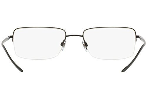Giorgio Armani Montures de lunettes 5022 Pour Homme Matte Black, 53mm 3001: Matte Black