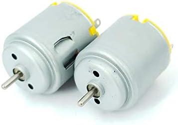 LIFANG USB小型ファンのリモートコントロールカーモーターおもちゃのボートモデルDIYモデルモータ20 * 26.9ミリメートルのための260のモータ1.5-5V