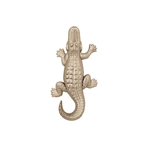 Alligator Door Knocker - Nickel (Standard Size)
