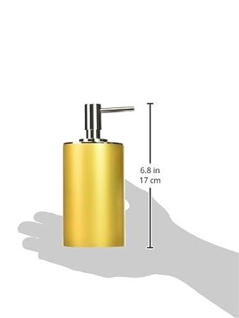 Gedy YU80-02 Yucca Brush Holder Silver 1.5 L x 3.32 W White 1.5 L x 3.32 W Nameek/'s