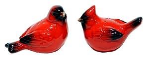 Transpac Dol Cardinal Salt & Pepper Shakers