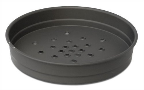 Manpans USA Made Hard-Anodized 12 Inch Perforated Deep Dish Pizza Pan (Pizza Pan Deep Dish compare prices)