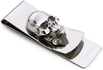 KISSWIN Stainless Steel Fashion Cash Money Clip Credit Card Business Card Holder