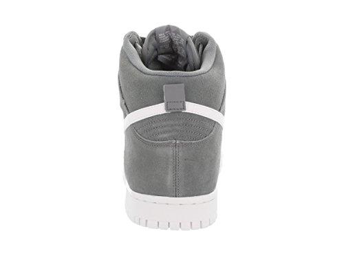 Hi Sneakers Dunk Alte Pelle Nike Suede Uomo Grigio 8BEFHBqPw