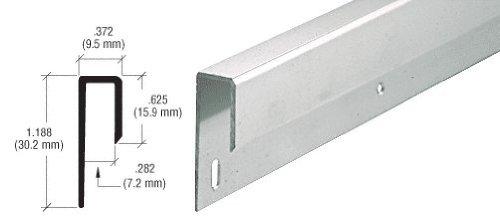 Satin Anodized Deep Aluminum Channel
