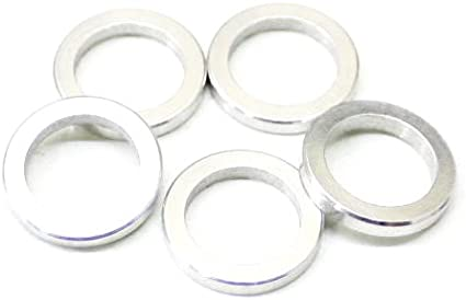 WHEELS MANUFACTURING 0.6MM ALLOY BICYCLE CHAINRING SPACERS--BAG OF 20