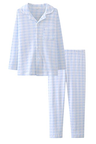 Navy Blue Boys Pajamas - 7