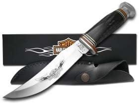 Case Harley-Davidson 52145 Buffalo Horn Hunter BH23-5 SS Knife