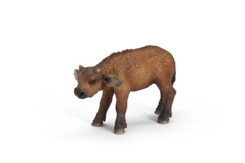- Schleich African Buffalo Calf Toy Figure