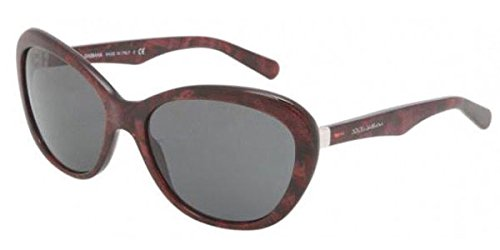 Dolce & Gabbana Corset Dg4150 Sunglasses 259187 Gauze Red Grey 59 18 135