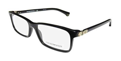 Emporio Armani Eyeglasses EA3005 5017 Black Demo Lens 51 16 - Co Emporio &