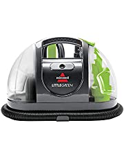 BISSELL - Portable Carpet Cleaner - Little Green Plus – for Carpet & Upholstery – with Stain Brush and Self-Cleaning Tool - Home and Automotive use