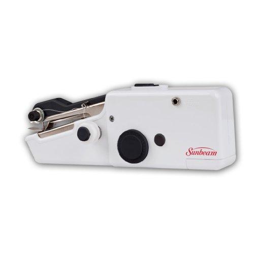 Sunbeam Portable Cordless Handheld Sewing Machine Black