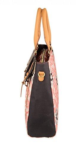 Oilily Office Bag OES7183-330 Pink Flamingo Damen Aktentasche Schultertasche Umhängetasche Pink (40 x 12 x 31 cm)