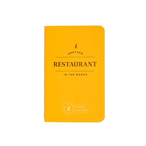 Restaurant Passport — Pocket-Sized Experience Journal Book by Letterfolk — Perfect Gift for - Journal Restaurant