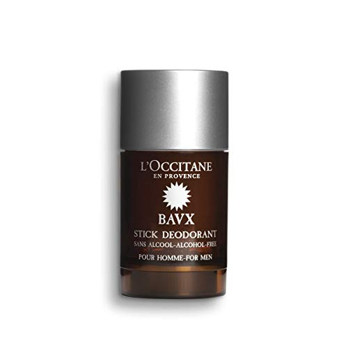 L'Occitane Aluminum Salts Free & Alcohol-Free Eau des Baux Deodorant for Men, 2.6 Oz