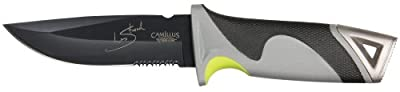 Camillus Survivorman Les Stroud SK Mountain Ultimate Survival Knife, Grey by Acme United Corporation (Sports)
