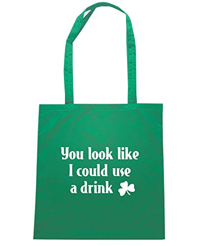 YOU Speed I Borsa DRINK Shirt COULD Verde Shopper TIR0231 LOOK LIKE xwXAqUTOw