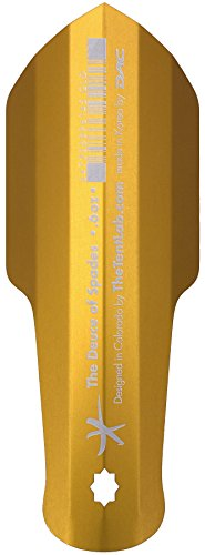The Tentlab The Deuce of Spades Backcountry Potty Trowel, Gold , 0.6 ounces