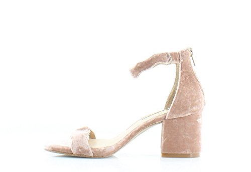 INC International Concepts Womens Hadwin Open Toe Casual Ankle Strap Sandals Dark Blush Size 6.5 M US from INC International Concepts