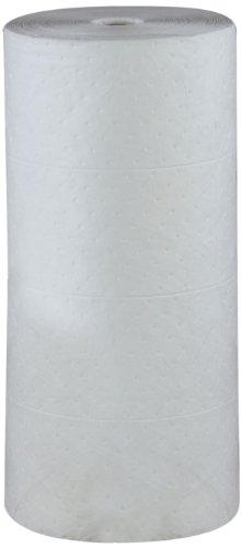 ESP 2MBWR Polypropylene Medium Weight Meltblown Oil Only Absorbent Non-Bonded Roll, 150' Length x 30'' Width by ESP