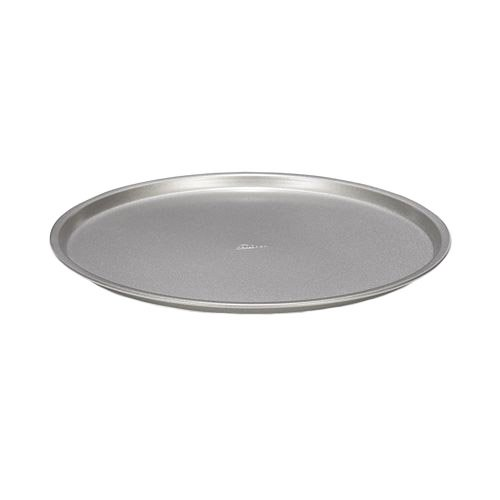 Patisse Nonstick Silver Top Pizza Tray, Silver Grey