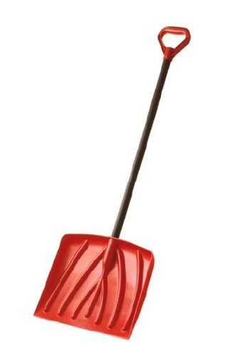 Suncast SK4000 12-Inch Kids Snow Shovel With 34-Inch Resin (Driveway Snow)