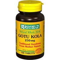 Хороший 'N Natural - Готу Кола 250 мг. - 100 таблеток