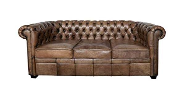 Casa-Padrino sofá Chesterfield de Lujo con Estilo Buffalo ...