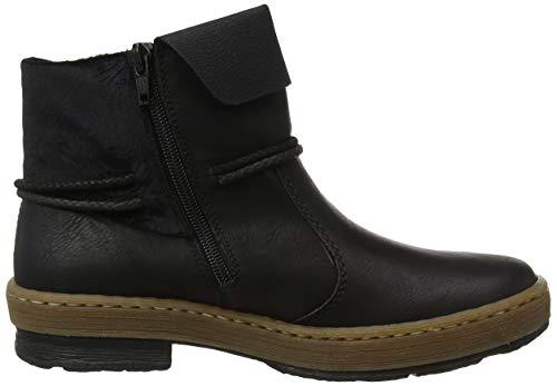 Rieker Bottes black 00 Z6771 Femme Noir Classiques 0HwFgqf0