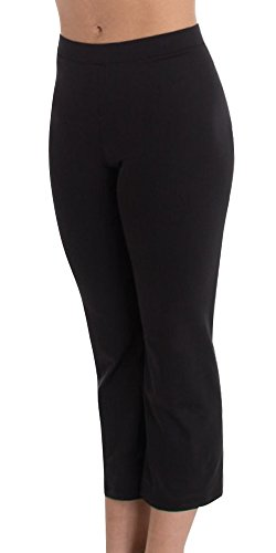 Body Wrappers Crop Pant - Body Wrappers Womens Crop Pant (BWP787) -Charcoal -XL