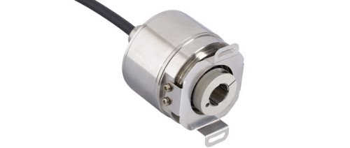 POSITAL IXARC OCD-S6D1B-1213-B12V-CAW SSI with Preset + Incremental Push Pull Absolute Rotary Encoder by POSITAL