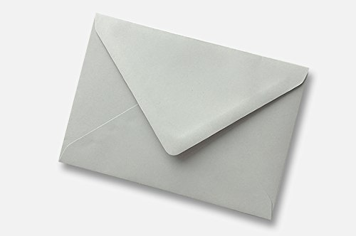 5x7 (133x184mm) Owl Grey 100GSM Envelopes (Pack of 25, 50, 100, 250, 500, 1000) Envelopes4U