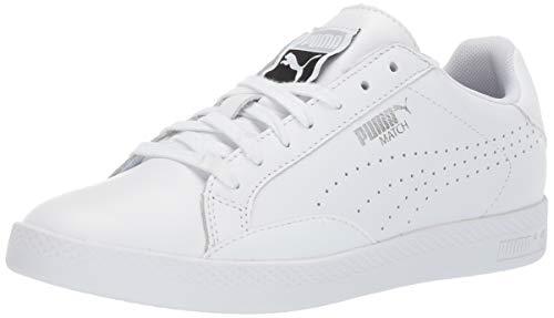 (PUMA Women's Match 74 Sneaker Silver, 7.5 M US)